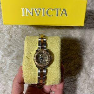Pave Rhinestone Invicta Ladies Watch